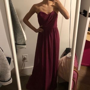 NEW ASOS Plum Gown